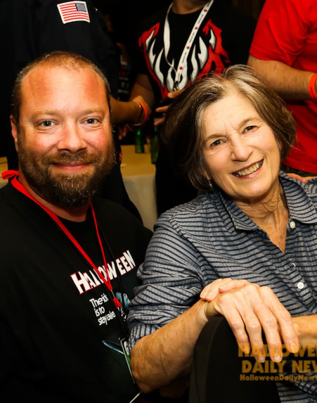 HDN's Matt Artz with Nancy (Loomis) Kyes