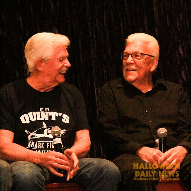 Dick Warlock and Tom Atkins