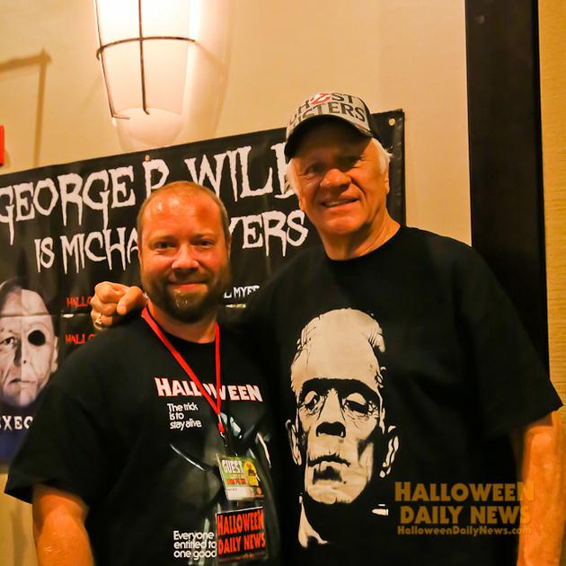 HDN's Matt Artz with George P. Wilbur