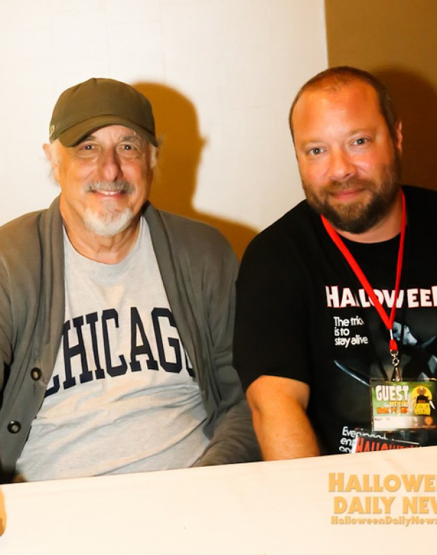 Nick Castle with HDN's Matt Artz