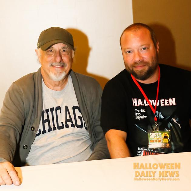 Nick Castle with HDN's Matt Artz