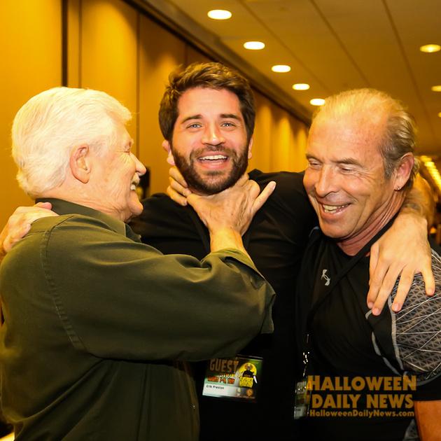Dick Warlock, Erik Preston, and Don Shanks
