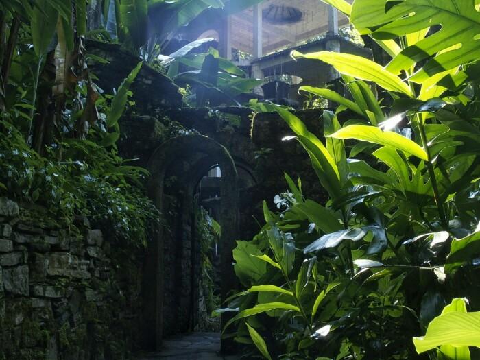 Edward James-en Jardin Eskultorikoa. Xilitla, SLP.