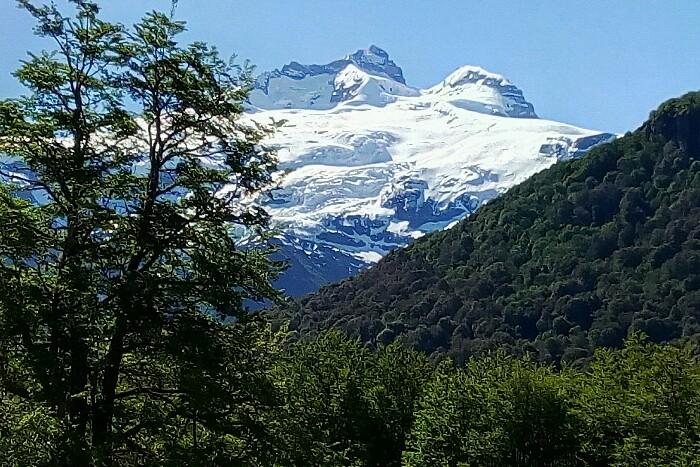 Cerro Tronador. Bariloche, Argentina.