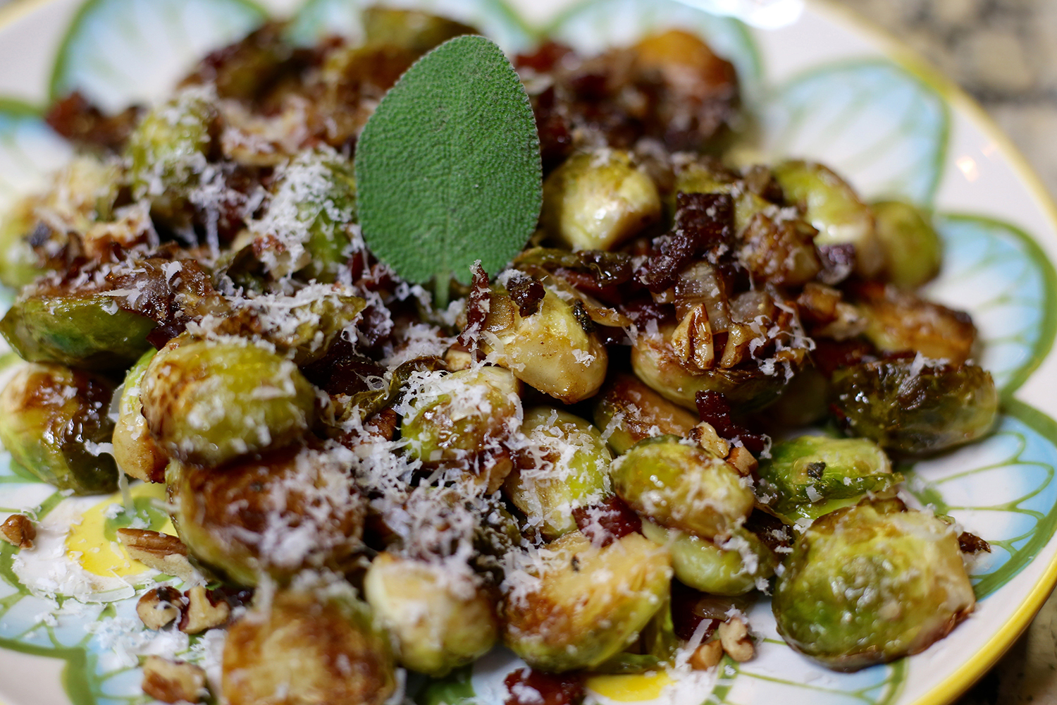 If you think you don't like brussel sprouts, it's because you've never tried them this way!