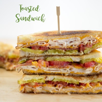 Super Tasty Totally Tempting Toasted Sandwich