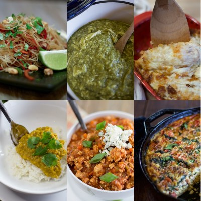6 Main Dishes to Get You Out of Your Food Rut