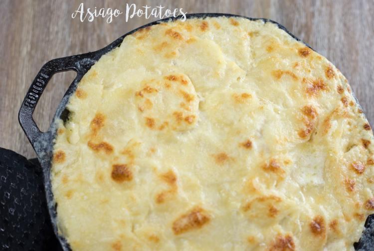 Asiago Potatoes