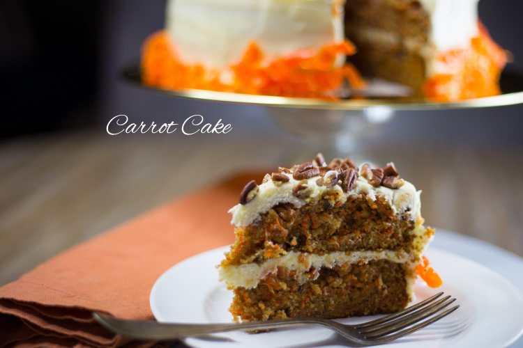 Thanksgiving Menu-Carrot Cake