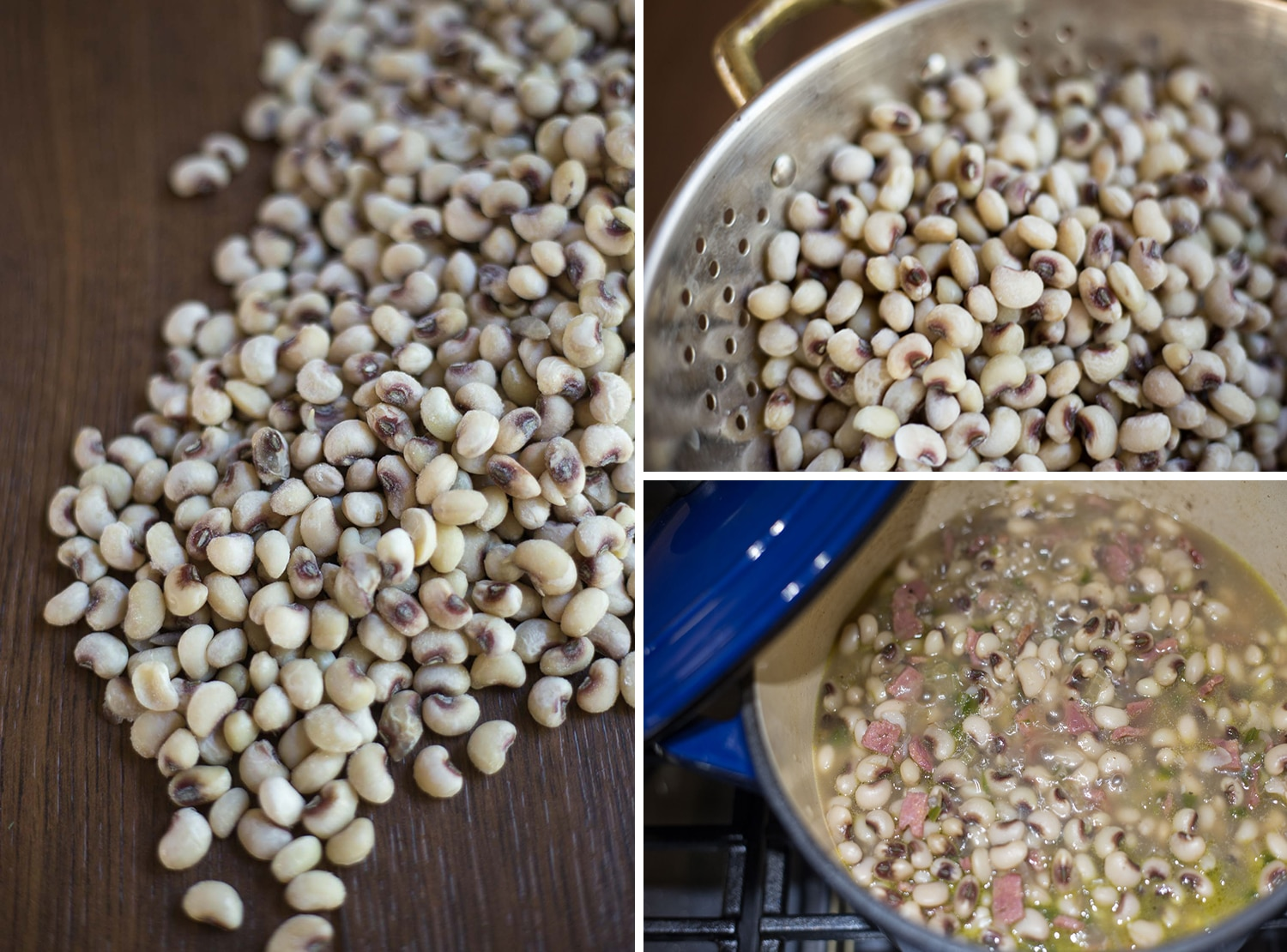 Be sure to eat plenty of black eyed peas for a prosperous new year! |artzyfoodie.com|