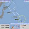 台風11号(2018)の米軍・気象庁の最新進路予想!