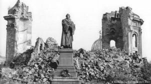 Destruction during the war