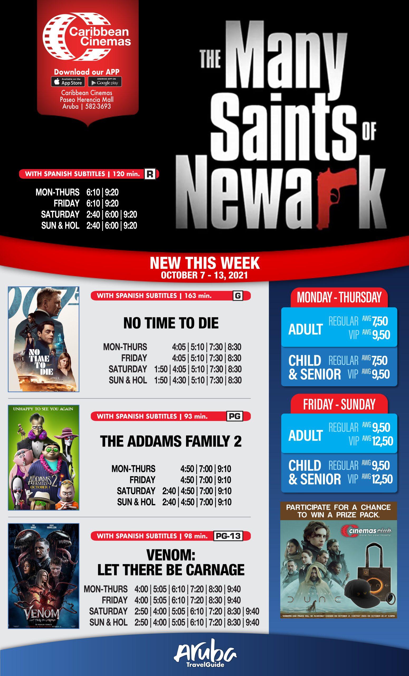 Welcome, Caribbean Cinemas to Aruba Tourist Channel!