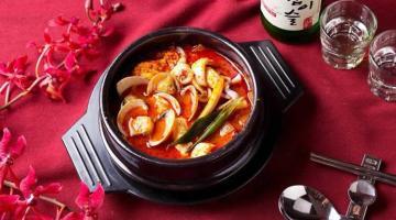 看板メニューは「豆腐チゲ」   韓大發韓式料理