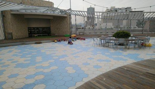 都心のゆったり遊び場!福屋八丁堀本店屋上【追記】ピアノが設置!