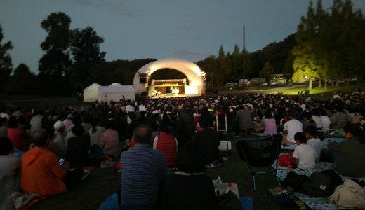 備北丘陵公園の「神楽&花火イベント」が最高でした