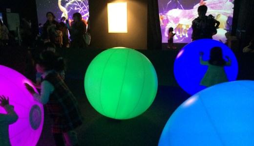広島城の注目イベント「光の祭」チームラボの遊具は広島にも!