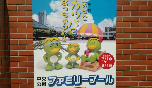 広島のプールと言えばここ!中央公園ファミリープールの楽しみ方をガイド