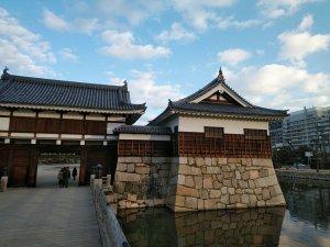 広島城西側