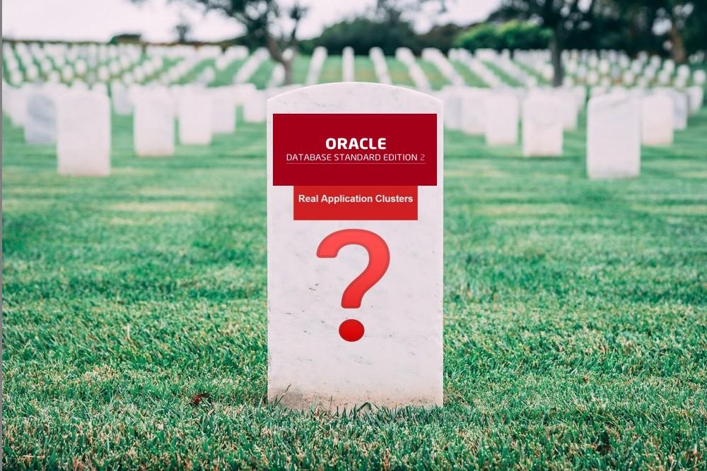 ¿Es 19c la muerte de RAC en Standard Edition?