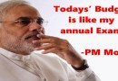 Today's Budget 2016 is like my Final Exam, Says PM Modi