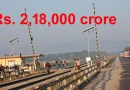 Road and Railways Gets Rs 2,18,000 crore for development