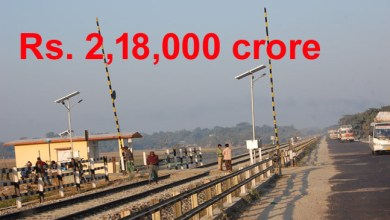 Photo of Road and Railways Gets Rs 2,18,000 crore for development