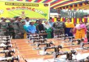 Army distributed Sewing Machines and Bunk Beds to the poor