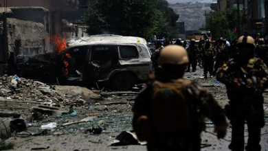 Photo of Suicide Bombers attack on Indian Consulate in Afghanistan