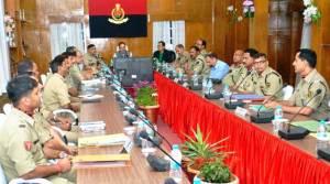 Director General BSF, K K Sharma Visits Meghalaya Frontier