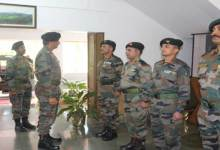 Photo of Eastern Army Commander Visits Assam & Meghalaya