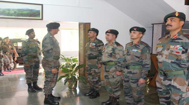 Eastern Army Commander Visits Assam & Meghalaya