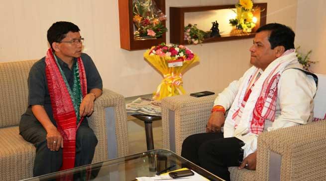 Pul meets Sonowal