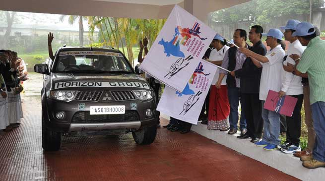 Chief Minister Flag-off International Car Rally