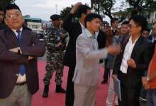 Photo of CM Pul visits Arunachal Bhawan in Shillong