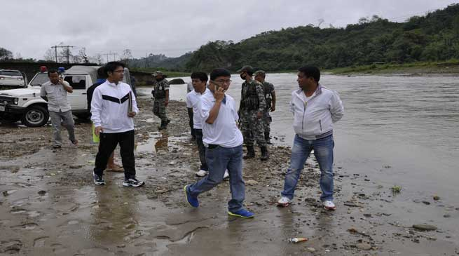 Both Hanging and Motarable Bridge Over Pachin River are on Card -Pul
