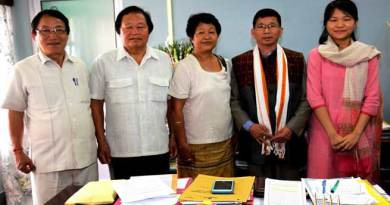 Chief Minister Kalikho Pul meets UPSC qualifier Duyu Kampu