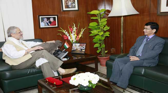 Lt. Governor Najeeb Jung, Agreed to Allot Plots for Arunachal Guest House