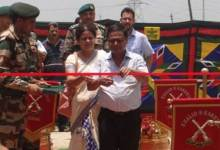 Photo of Army Honours Lt Capt Gautam Sarma by Building a Memorial