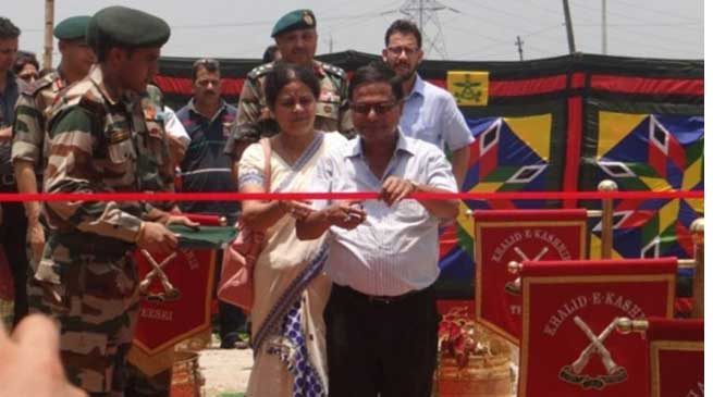 Army Honours Lt Capt Gautam Sarma by Building a Memorial