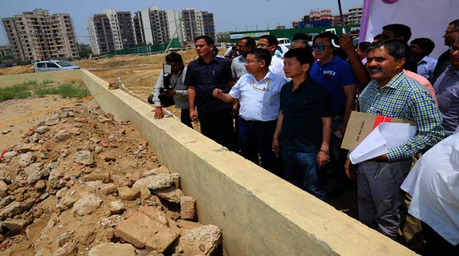 Arunachal gets two plots in New Delhi, Pul inspects the sites