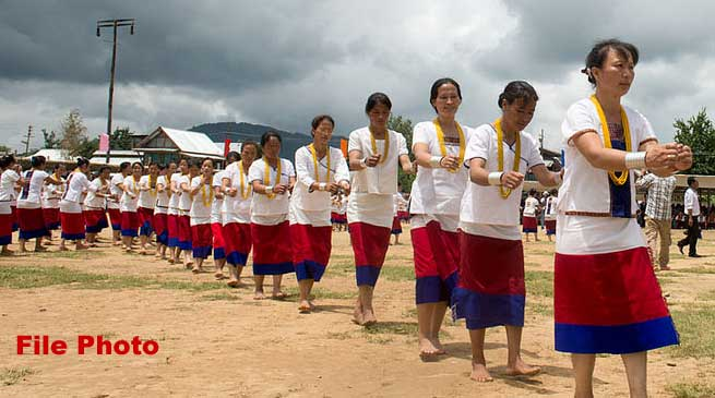 Dree Festival- Pul Greets to people of Arunachal