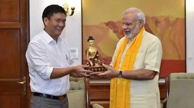 PM Modi Assured Wholehearted Support To Arunachal