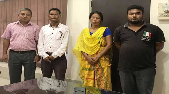 OGW of NDFB-S arrested by Assam Police