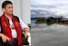 Photo of Khandu Reviews The Flood Situation In The State