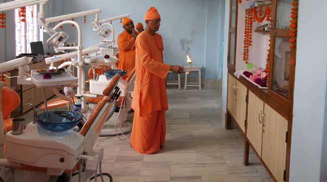 Ramakrishna Mission Charitable Dispensary gets Modernized