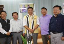 "Photo of Arunachal- Chief Minister Pema Khandu Says "" I Believe in Team Work"""