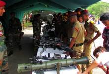 Photo of Army Organised Arms and Ammunition Exhibition at Narengi