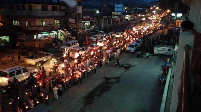 Candlelight Peace Rally, Prayer to Pay Homage to Late Pul