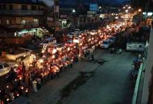 Photo of Candlelight  Peace Rally, Prayer to Pay Homage to Late Pul